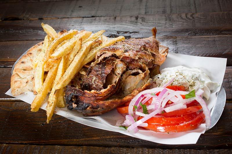Pitogyros Best Pita Gyros Souvlaki Kebab Oia Santorini